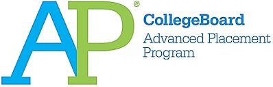 An image of the AP College Board Advanced Placement Program logo