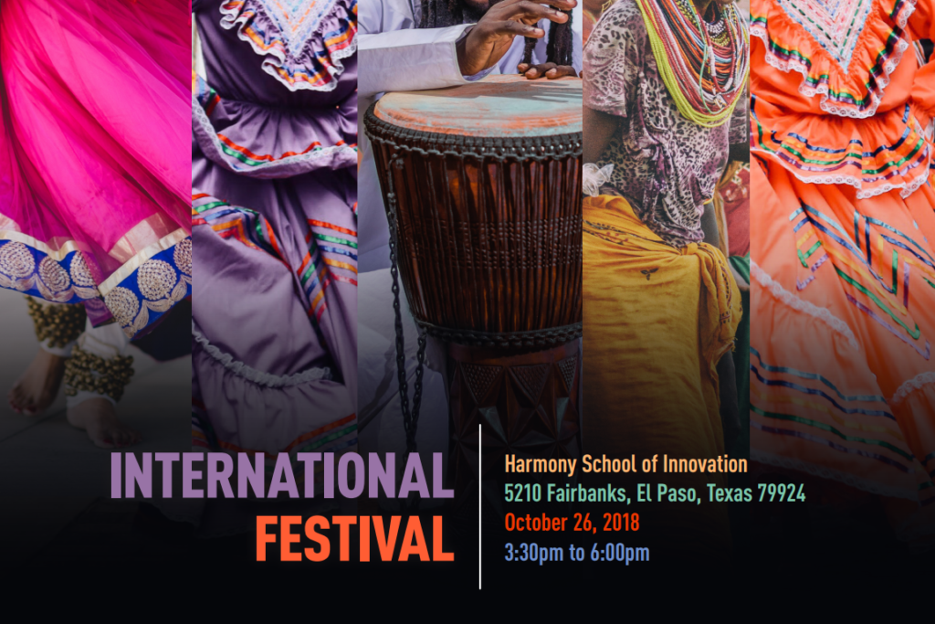 An image of the the International Festival Poster