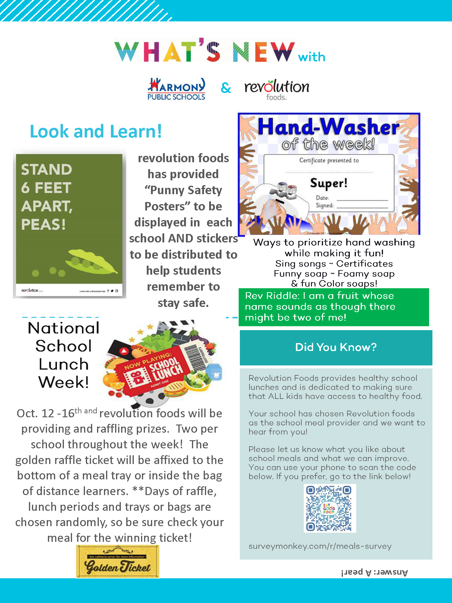 An image of the HPS Newsletter for October 2020