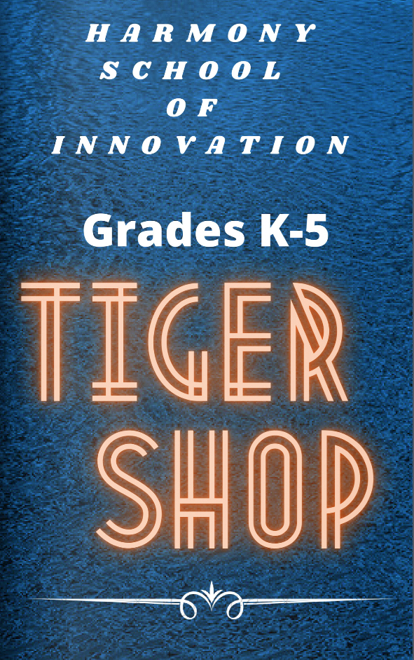 An image of the 5-5th grade tiger shop catalogue cover