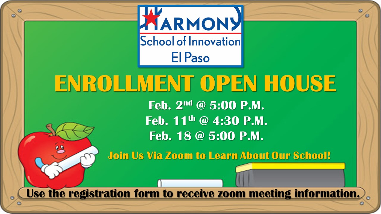 An image of the HSI El Paso open house flyer